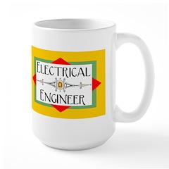 Electrical Engineer Line Large Mug
