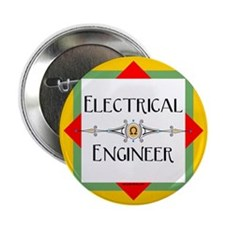 """Electrical Engineer Line 2.25"""" Button"""