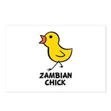 Zambian Chick Postcards (Package of 8)