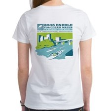 2006 Clean Water Paddle Shirt (girls, white)