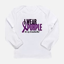 I Wear Purple For My Grandmother 10 Long Sleeve T-