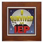 I Survived an IEP Framed Tile