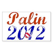 Sarah Palin 2012 Rectangle Decal