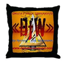 Dfw Throw Pillow