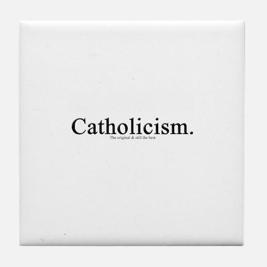 Catholicism.  The original &  Tile Coaster
