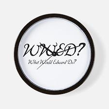 Twilight - WWED? Wall Clock