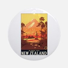 New Zealand Keepsake (Round)