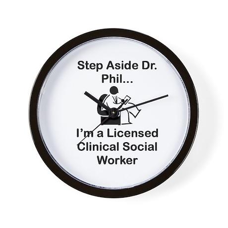 Dr. Phil Wall Clock