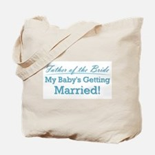 Funny Father of the Bride Tote Bag
