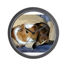 Pigs in a Bag Wall Clock