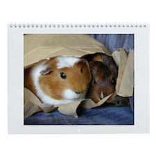 Guinea Pig Secrets Wall Calendar