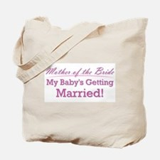 Cute Mother of the Bride Tote Bag