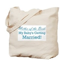 Funny Mother of the Bride Tote Bag