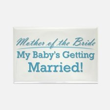 Funny Mother of the Bride Rectangle Magnet