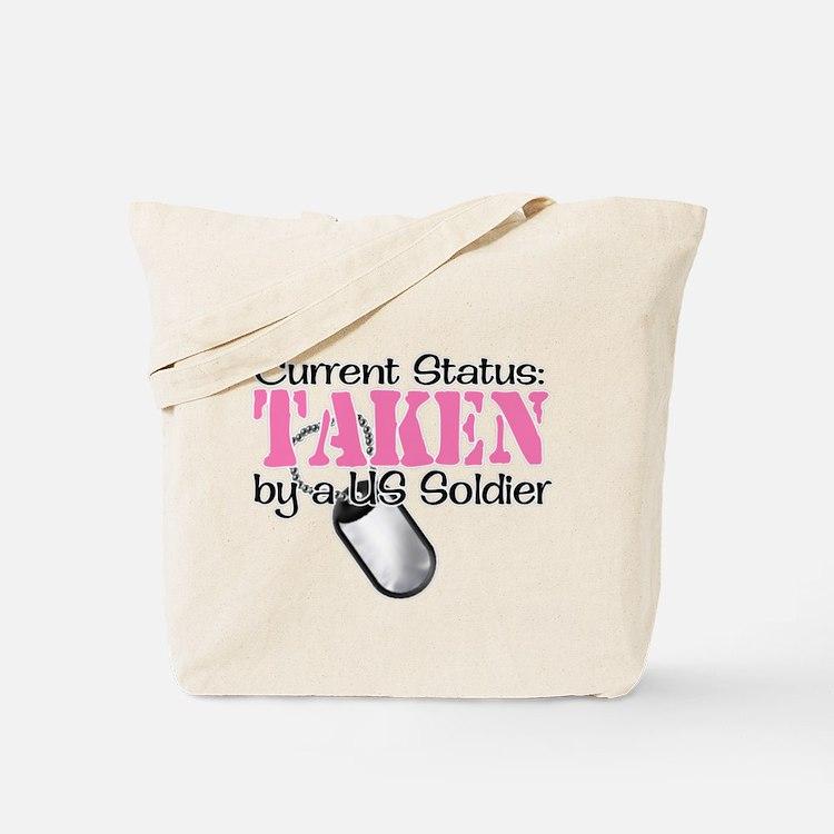 Cute Army mom infantry Tote Bag