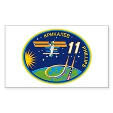 Expedition 11 Rectangle Decal