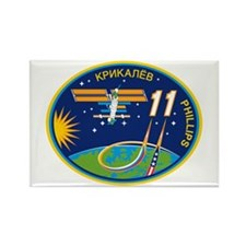 Expedition 11 Rectangle Magnet