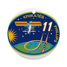 Expedition 11 Ornament (Round)