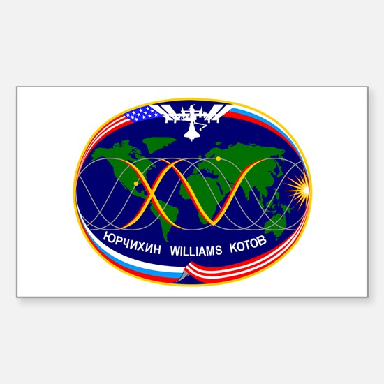Expedition 15 A! Rectangle Decal