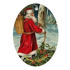Santa Claus and Holly