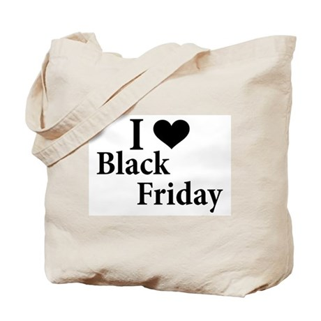 I Love Black Friday Tote Bag