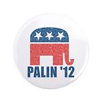 """Sarah Palin 2012 3.5"""" Button (100 pack)"""