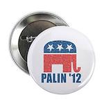 """Sarah Palin 2012 2.25"""" Button (100 pack)"""