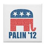 Sarah Palin 2012 Tile Coaster