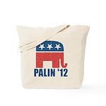 Sarah Palin 2012 Reusable Canvas Tote Bag