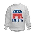 Sarah Palin 2012 Kids Sweatshirt