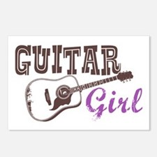 Guitar girl Postcards (Package of 8)