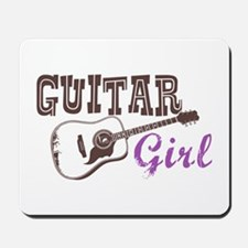 Guitar girl Mousepad