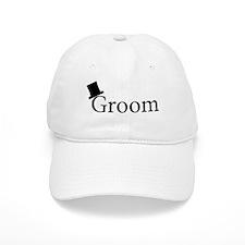 Cute Groom Baseball Cap
