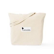 Cute Groom Tote Bag