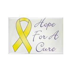 Hope For A Cure Rectangle Magnet (100 pack)