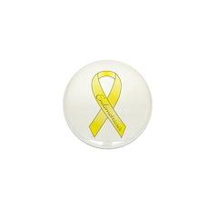 Endometriosis Ribbon Mini Button (100 pack)
