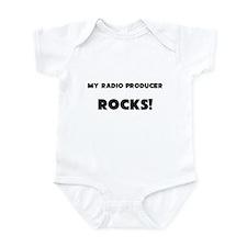 MY Radio Producer ROCKS! Infant Bodysuit