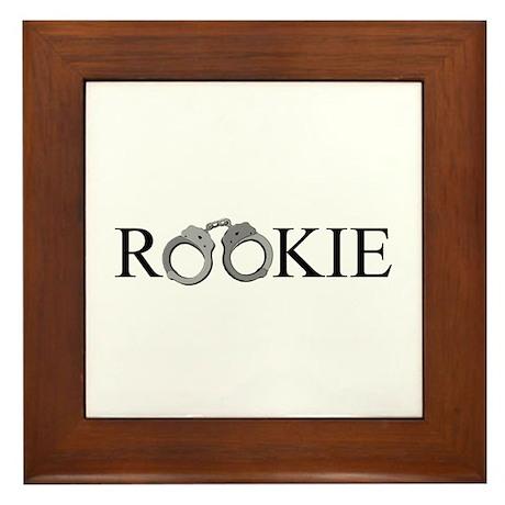 Rookie Framed Tile