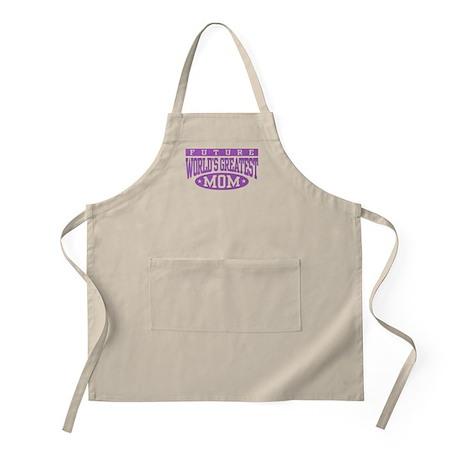 Future World's Greatest Mom BBQ Apron