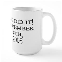 Obama Victory Large Mug