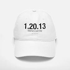 Obama's Last Day Baseball Baseball Cap