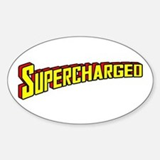 Supercharged Sticker (Oval)