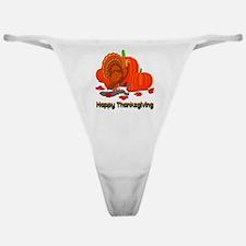 Thanksgiving Turkey Classic Thong