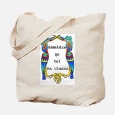 Armed to the teeth! Tote Bag