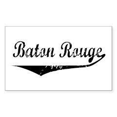 Baton Rouge Rectangle Decal