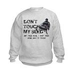 Snowmobile Threat Kids Sweatshirt