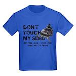 Snowmobile Threat Kids Dark T-Shirt