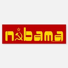 Comrade NOBAMA Bumper Bumper Bumper Sticker