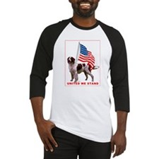 Patriotic Red and White sette Baseball Jersey