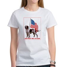 Patriotic Red and White sette Tee